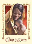 Christ is Born African American Christmas Cards