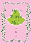 Alpha Kappa Alpha Blank Note Cards