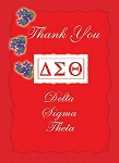 Delta Sigma Theta Thank You Cards