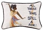 All These Years Still A Fox - Cidne Wallace Pillow