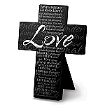 Love Metal Message Cross