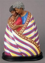 Embrace of Love - Keith Mallett African American Figurine