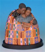 Family Circle - Keith Mallett African American Figurine