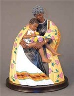 In Grandma's Hands - Keith Mallett African American Figurine