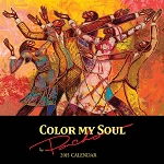 Color My Soul by Poncho Brown 2015 African American Calendar