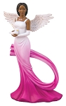 Sash Angel Figurine Fuchsia
