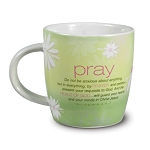 Cup of Prayer Encouragement Mug