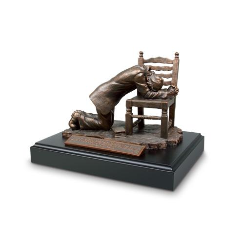 Praying Man Sculpture