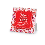 You Are Loved Plaque