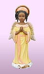 Thankfulness - Angel of Inspiration African American Figurine