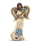 Grandma - Perfectly Paisley Angel Figurine