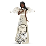Ebony Mother Modeles Figurine