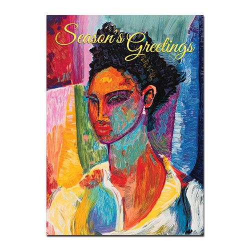 Seasons greetings african american christmas cards - African american christmas images ...