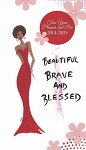 Beautiful Brave and Blessed 2014 - 2015 Two Year Planner