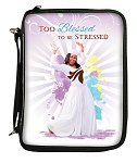 Too Blessed To Be Stressed Bible Cover