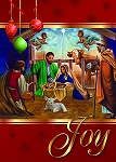 Nativity Joy African American Christmas Cards