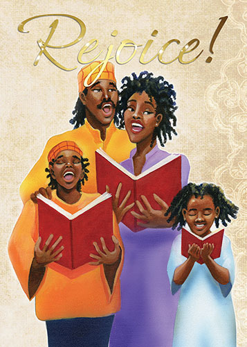 family rejoice african american christmas card african american clip art religious pew rally african american clip art religious/ushers
