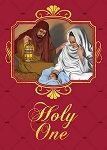 Holy One in the Manger - African American Christmas Card