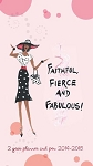 Faithful Fierce and Fabulous 2014 - 2015 Two Year Planner