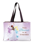 Too Blessed to be Stressed Handbag