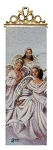 Angelic Trio - African American Tapestry Wall Panel