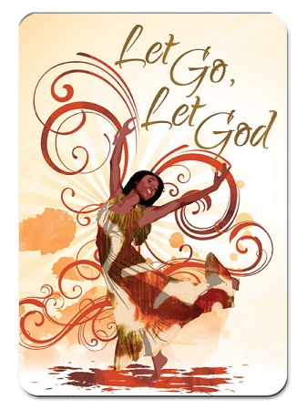 Let Go Let God Magnet