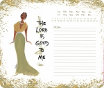 The Lord Is Good To Me Memo Mouse Pad