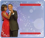 The Obamas Memo Mousepad