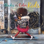 Shades of Color Kids 2017 Calendar