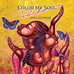 2018 Color My Soul Calendar by Poncho