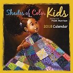 2018 Shades of Color Kids Calendar by Frank Morrison