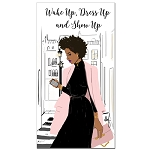 Wake Up Show Up 2018 - 2019 Two Year Checkbook Planner