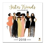 Sister Friends 2018 Wall Calendar