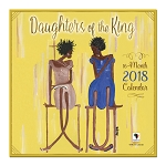 Daughters of the King 2018 Wall Calendar