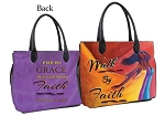 Walk by Faith African American Bible Bag