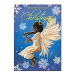 Hear the Sound of Christmas African American Christmas Cards