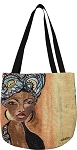 Moroccan Queen Gbaby Tapestry Tote Bag