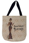 Beautifully Blessed Tapestry Tote Bag