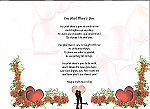 I'm Glad There's You - Personalized Poem