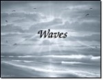 Beach Waves-First Name Origin Print