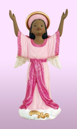 Hope - Angels of Inspiration African American Figurine