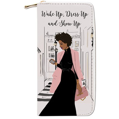 Wake Up Dress Up and Show Wallet