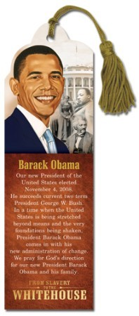 Barack Obama Bookmark - From Slavery To The White House
