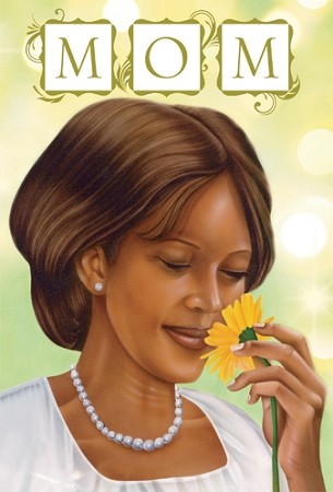 Mom - African American Mother's Day Card