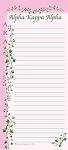 Alpha Kappa Alpha Magnetic Notepad