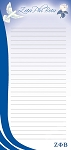 Zeta Phi Beta Magnetic Note Pad