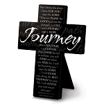 Journey Metal Message Cross