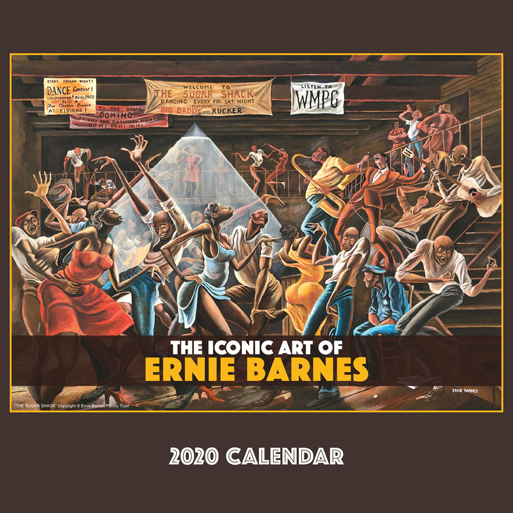 The Iconic  Art of Ernie Barnes 2020 African American Calendar