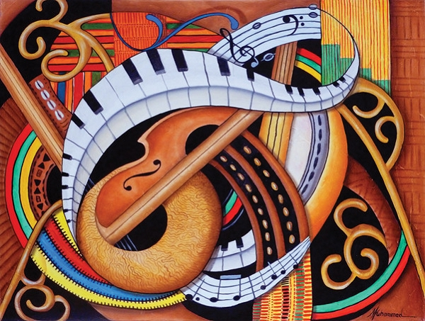 Sound of Soul Strings Jigsaw Puzzle