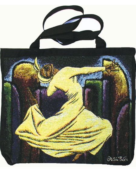 Unto Thee Soulful Flight Tote Bag